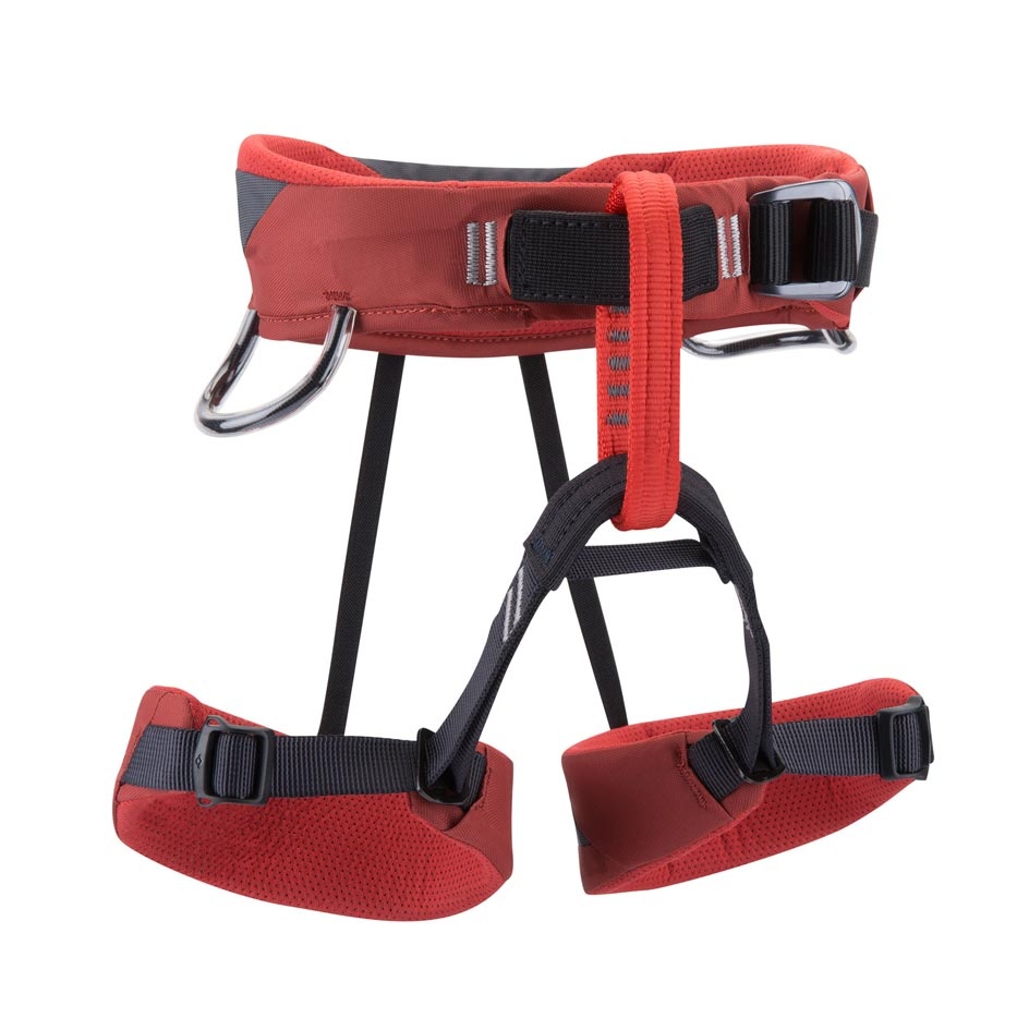 Black Diamond Harness Wiz Kid - Deep Torch - Available at the Climbing Shop, Wanaka, NZ