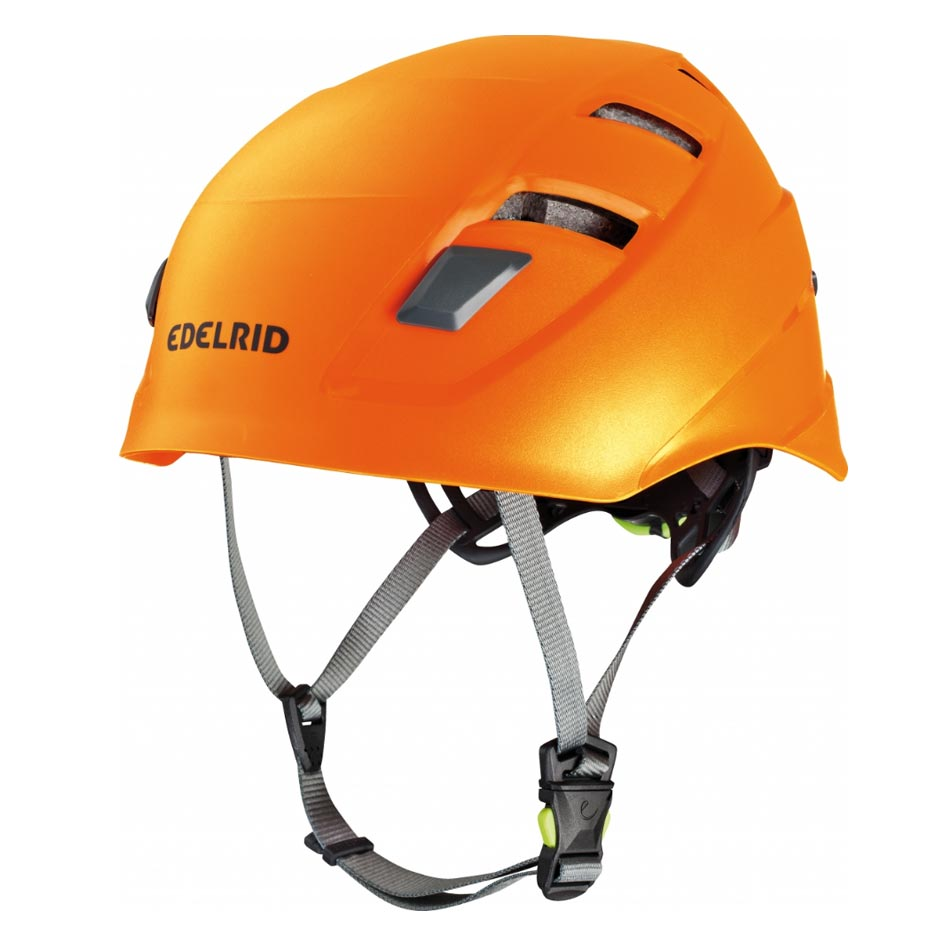 Edelrid Zodiac Helmet - Orange - Climbing Helmets Wanaka New Zealand