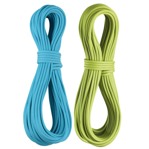 Edelrid Apus Ropes in Blue and Green