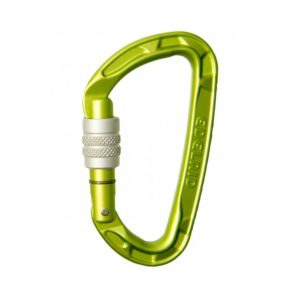 Edelrid Pure Screw Carabiner in Green