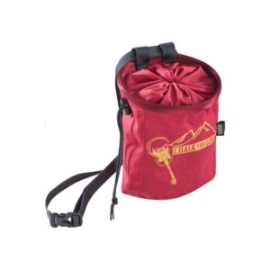 Edelrid Rocket Chalk Bag in Dark Red