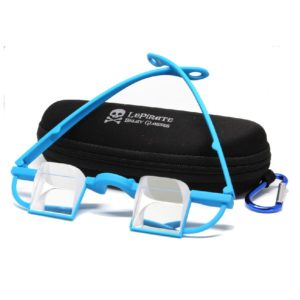 Le Pirate Belay Glasses, blue