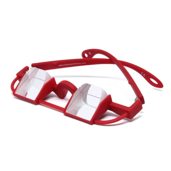 Le Pirate Belay Glasses, red