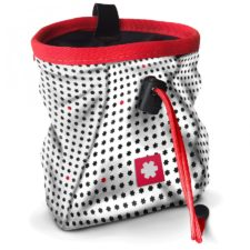 Ocun Lucky Chalk Bag White-red